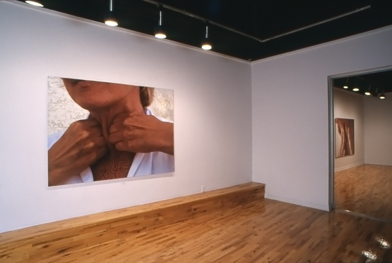 Transmission Patrick Bureau - Micheline Durocher Gallery McClure, Westmount, Canada